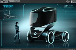 Electric Truck Concept Design Sketch by Konrad Cholewka