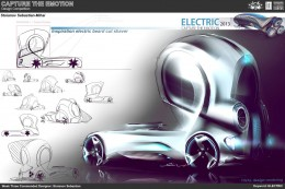 Electric Truck Concept Design Sketch by Stoianov Sebastian