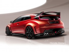 Honda previews Civic Type R Concept ahead of Geneva debut