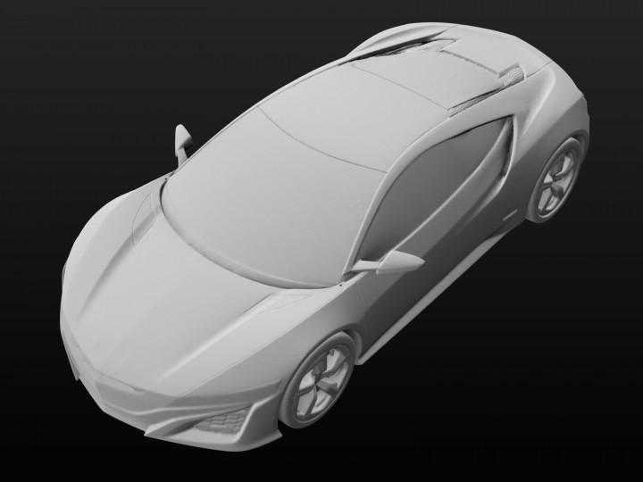 honda releases 3d data of concept cars for 3d printing car body design. Black Bedroom Furniture Sets. Home Design Ideas