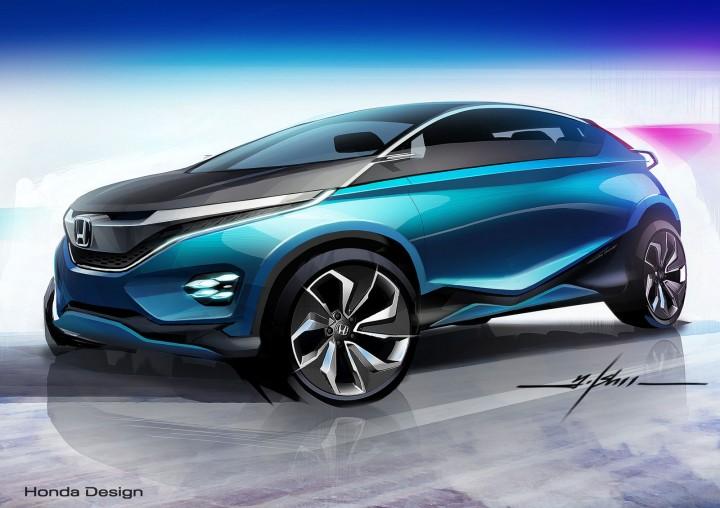 Honda vision xs 1 concept car body design for Future honda cars