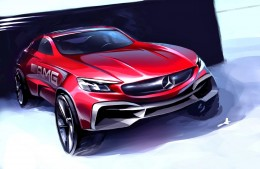 Mercedes-Benz AMG Concept Design Sketch by Zac Wang Design