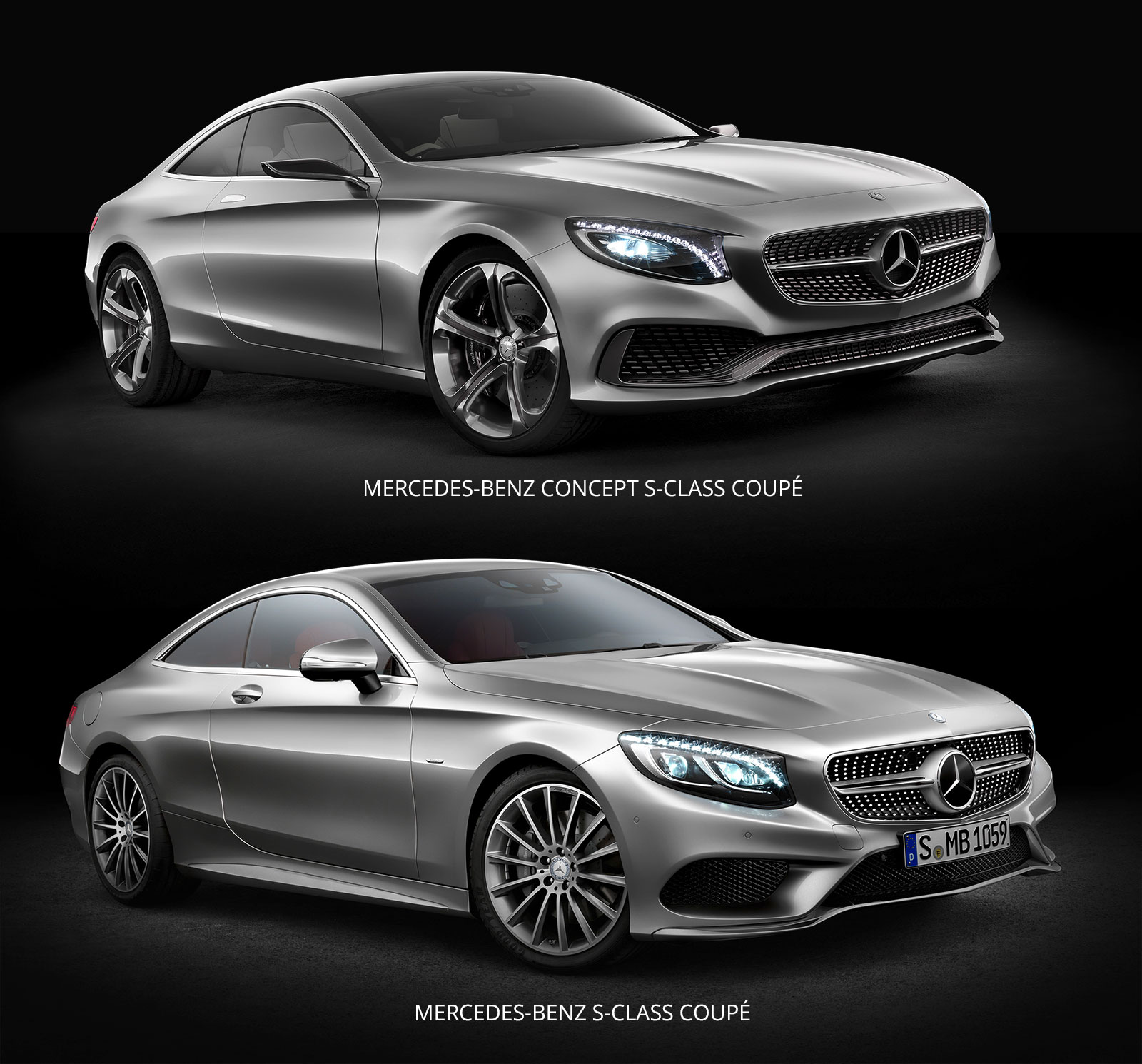 Mercedes Benz S Class Coupe Concept And Production