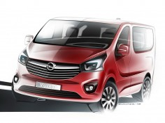 Opel previews the new Vivaro