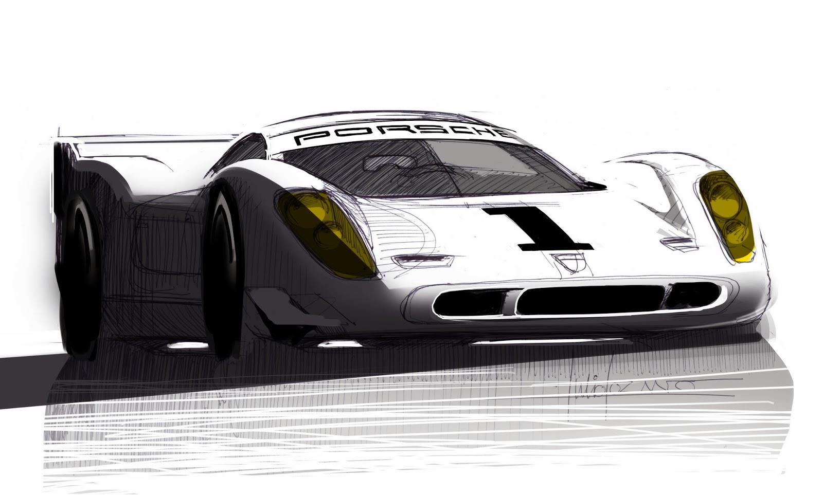 Porsche 917 By Julio Lozano Benlloch Car Body Design