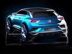 Volkswagen T-ROC Concept: design preview