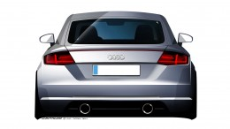New Audi TT Design Sketch