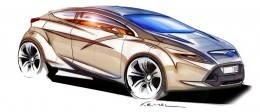 Ford Focus - Design Sketch by Kemal Curic
