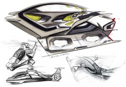 Ford Iosis X Concept - Design Sketch by Kemal Curic