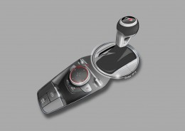 New Audi TT Interior Design Sketch Center tunnel and gear shift knob