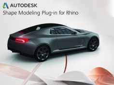 Shape Modeling Plug-in for Rhino is 72% off