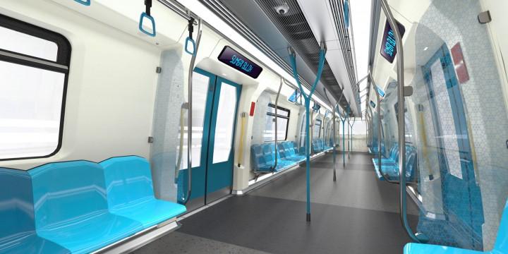 Bmw Designworksusa Creates Metro Train For Kuala Lumpur