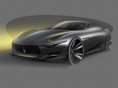 Maserati Alfieri Concept: the design