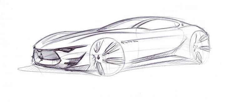 Maserati Alfieri Concept The Design Car Body Design