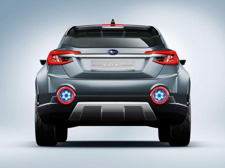 Subaru Viziv 2 Concept Car Body Design