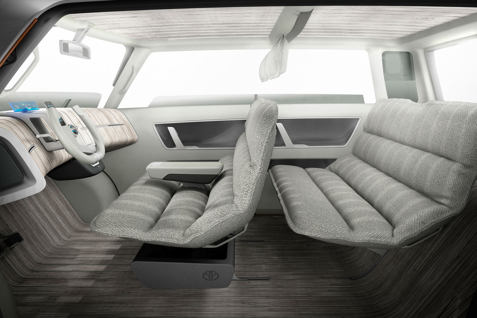 Toyota me we concept interior car body design for Car interior decoration
