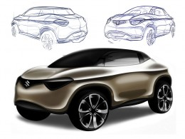 Suzuki Crosshiker Concept - Design Sketches