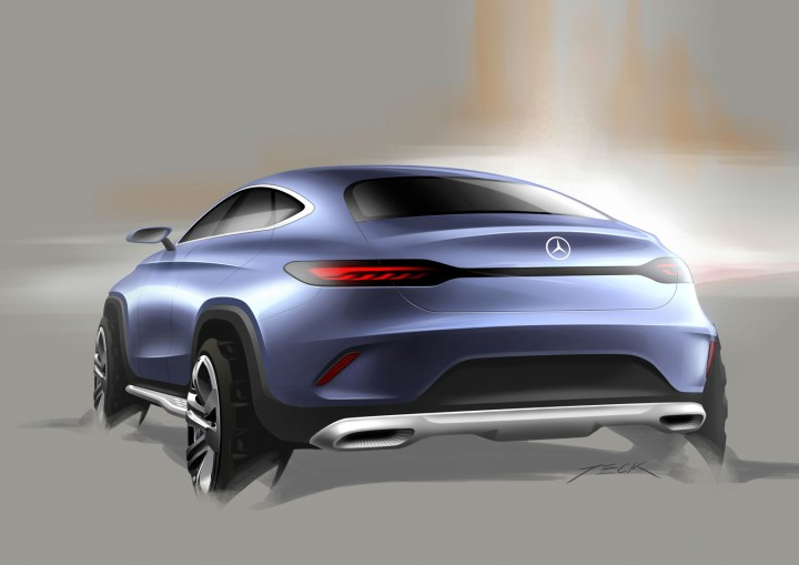 Mercedes Benz Concept Coup 233 Suv Car Body Design