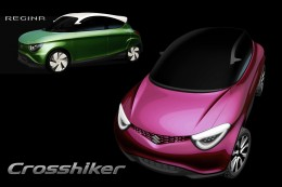 Suzuki Regina and Crosshiker - Design Sketches-Renderings