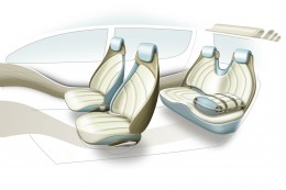 Suzuki Crosshiker - Interior Design Sketch