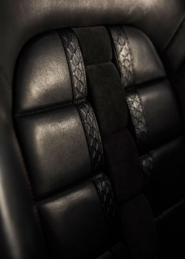 Citroen DS 5LS R Concept Interior - Leather seat detail