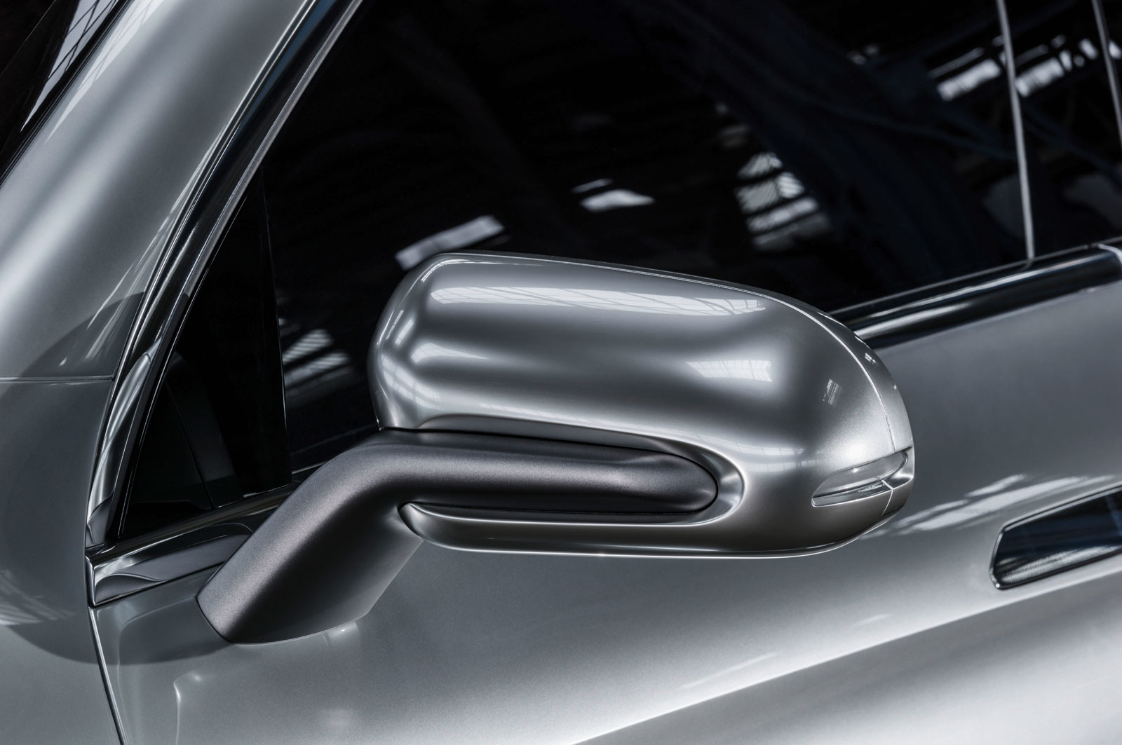 Mercedes benz concept coupe suv side mirror car body for Mercedes benz side mirror