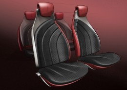 Suzuki Crosshiker - Final Interior Design Sketch - Seats