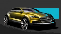 Audi Crossover Concept for Beijing 2014 - Design Sketch