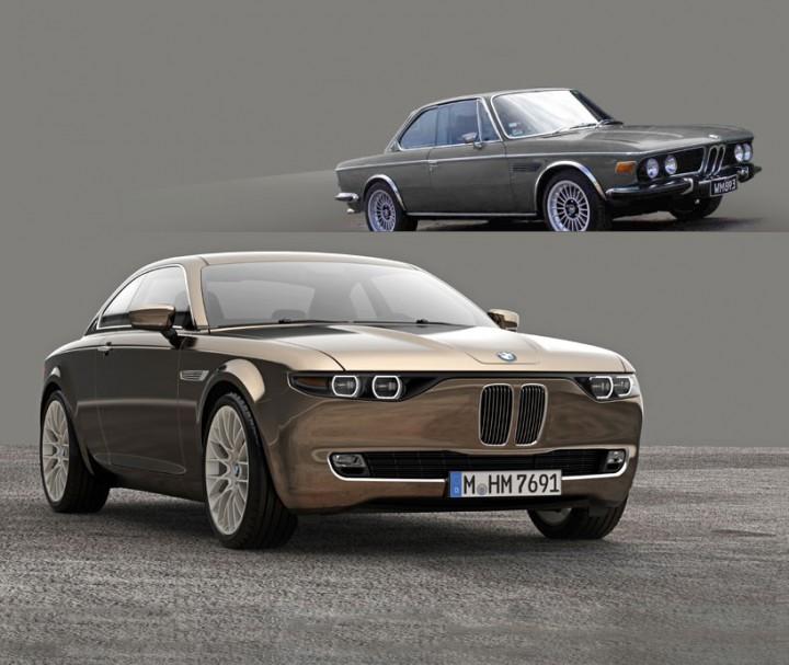 BMW CS Vintage Concept - Car Body Design