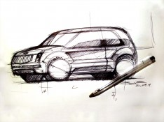 Car-Sketch-by-Luciano-Bove