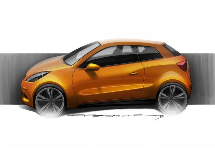 how to color a car sketch car body design