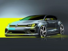 Volkswagen teases 400 hp Golf ahead of Beijing Show