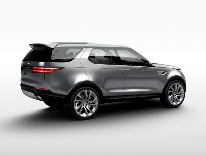 Land Rover Discovery Vision Concept Car Body Design