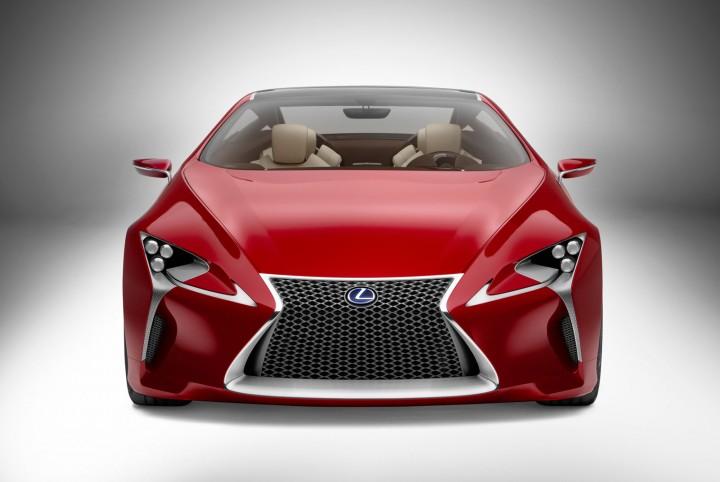 Lexus Concept Car: The Lexus Spindle Grille