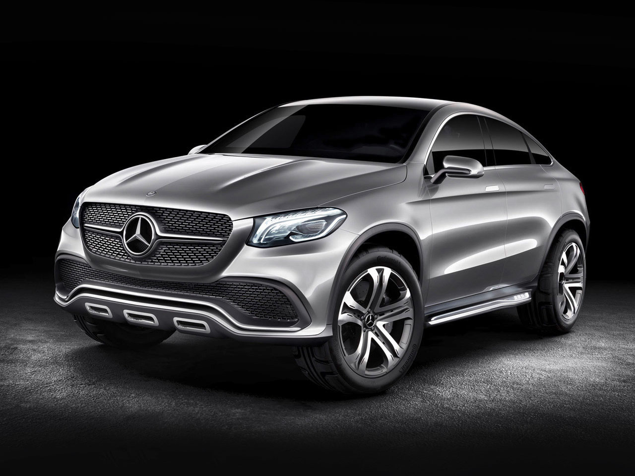 Mercedes benz concept coupe suv car body design for Mercedes benz concept suv