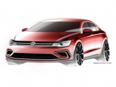 Volkswagen previews Midsize Coupé Concept