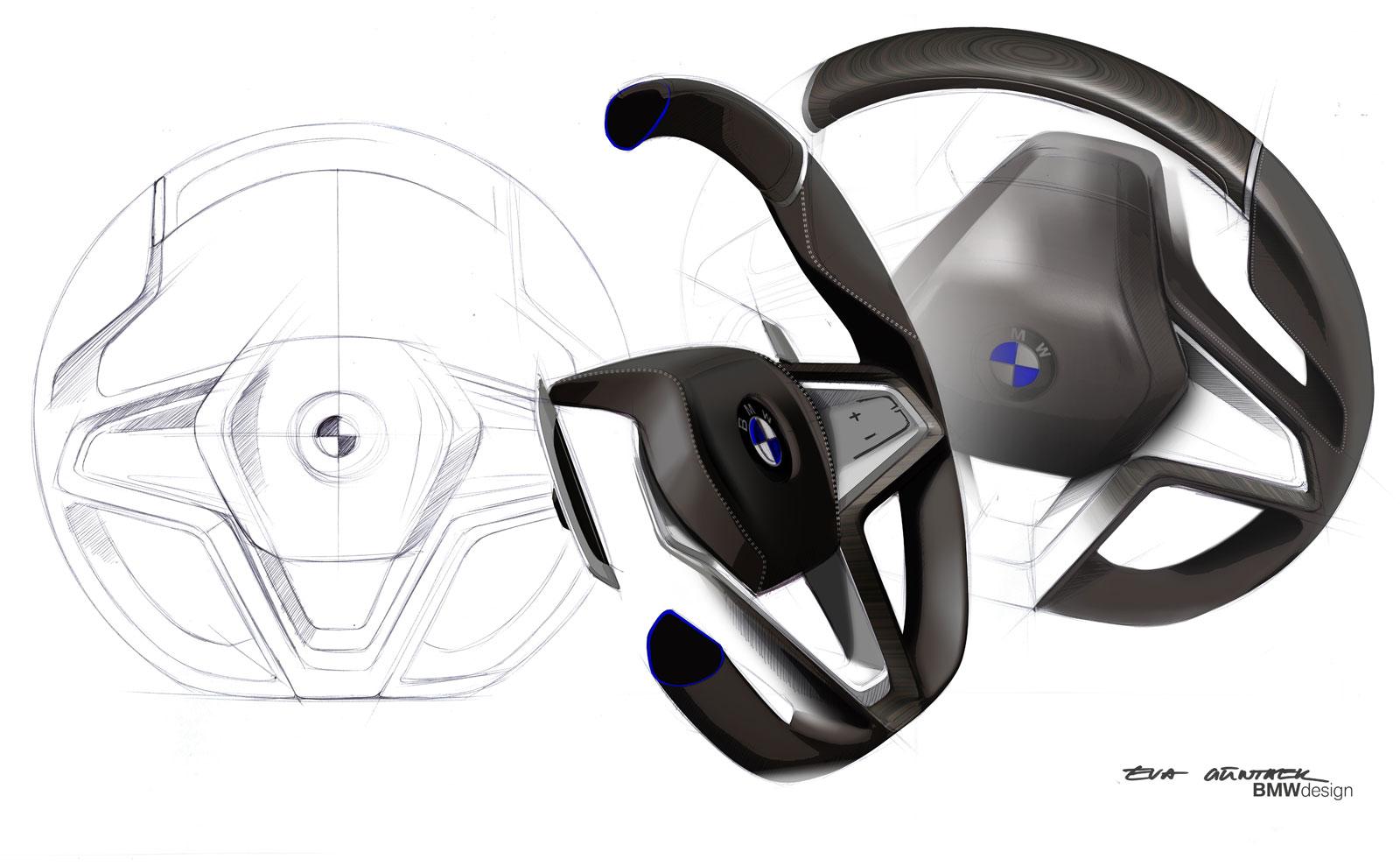BMW Vision Future Luxury Concept - Steering Wheel design ... - photo#39