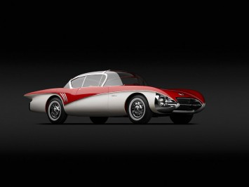1956 Buick Centurion XP-301 Concept by Harley Earl