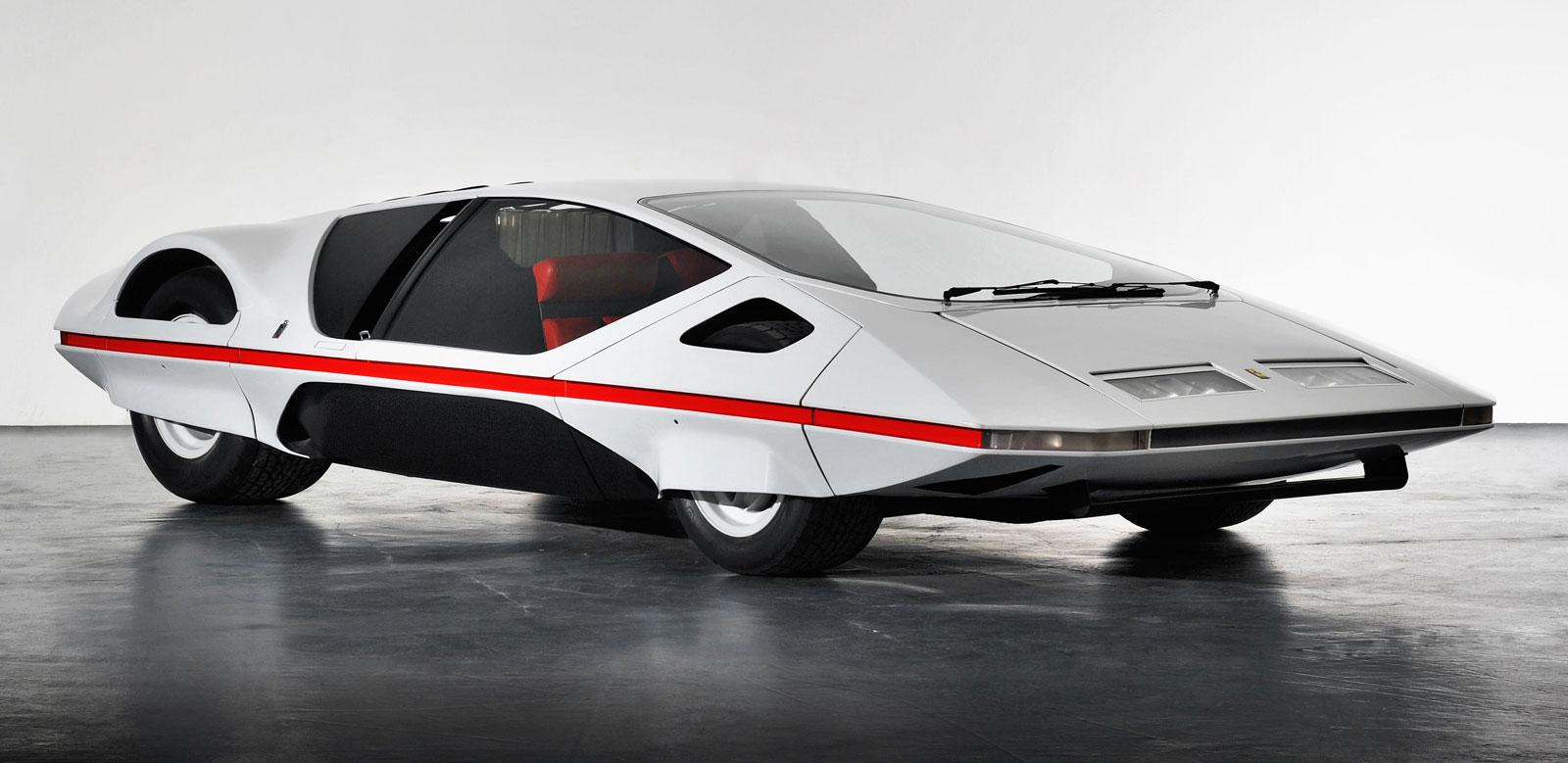 1970 Pininfarina Ferrari Modulo Concept Car Body Design