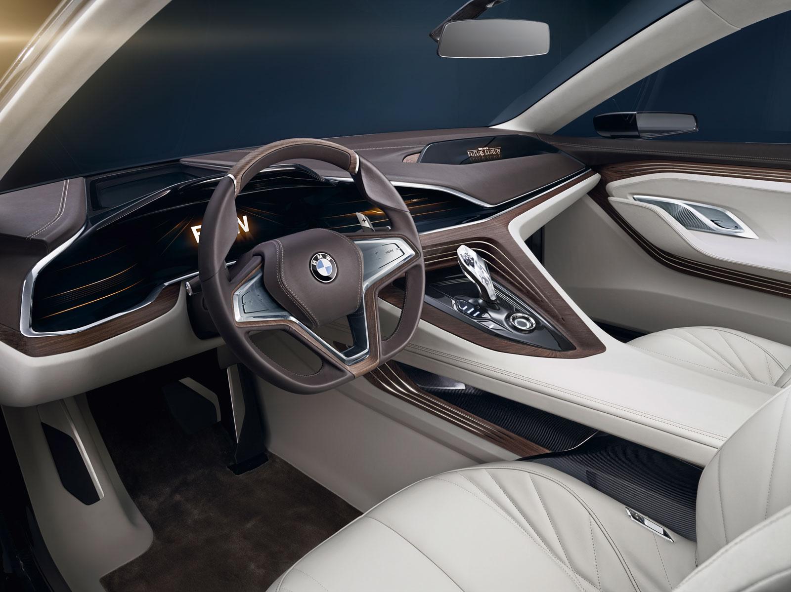 bmw vision future luxury concept interior car body design