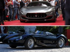 Two Maseratis win the Concorso d