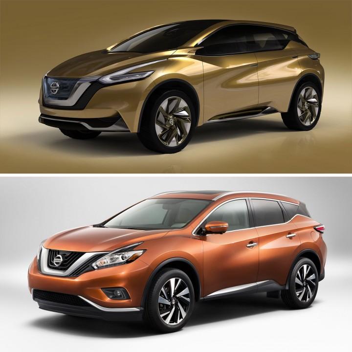 Nissan 2015 Murano: design gallery and videos - Car Body Design