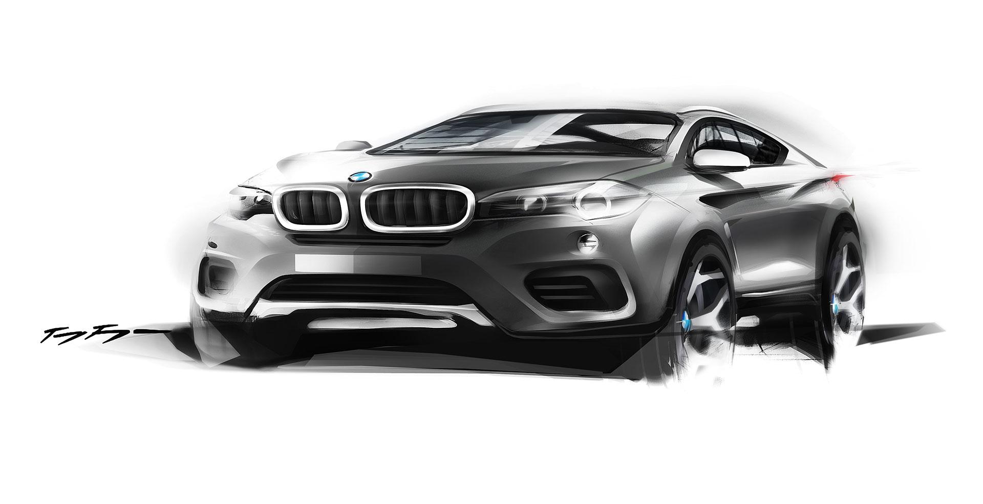 Bmw X6 Design Sketch Car Body Design