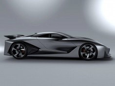 Nissan debuts physical Concept 2020 Vision Gran Turismo