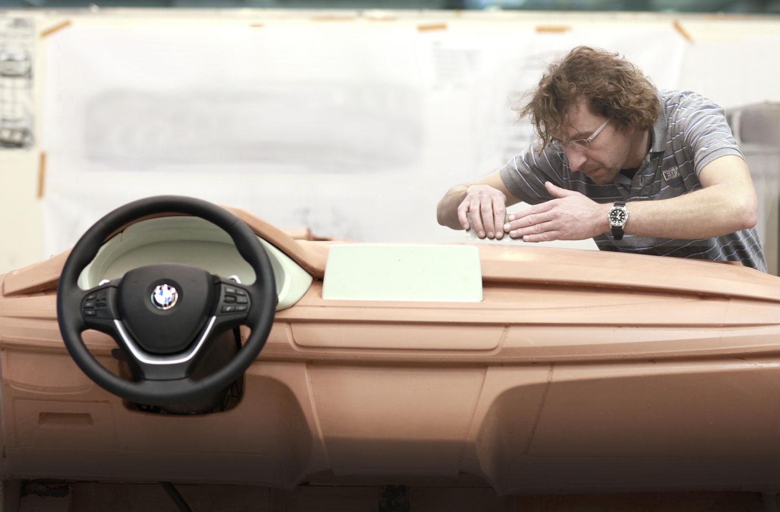 Bmw X6 Interior Clay Model Car Body Design