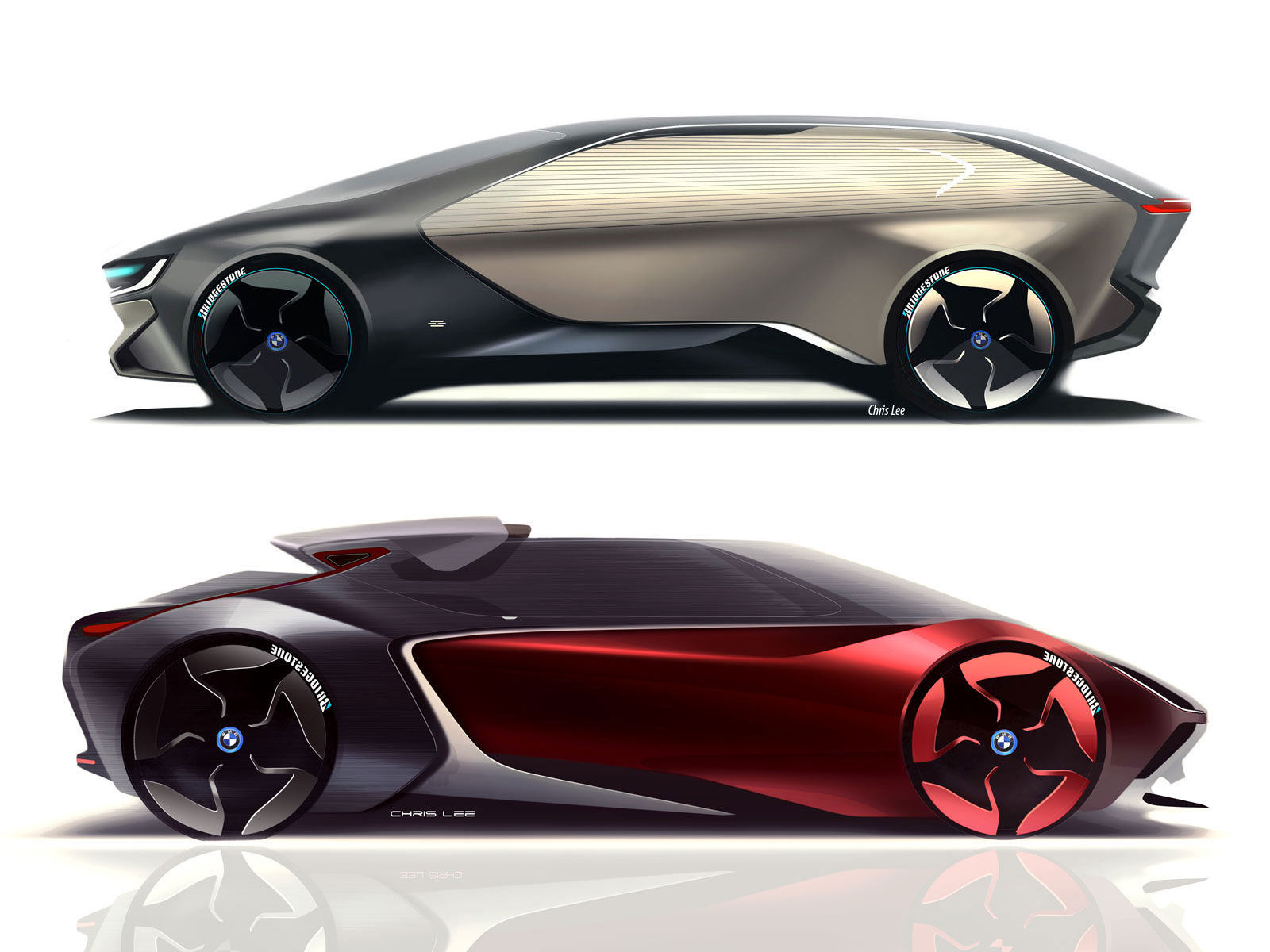 bmw i concepts by chris lee   car body design