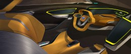 BMW i2 Concept - Interior Design Sketch
