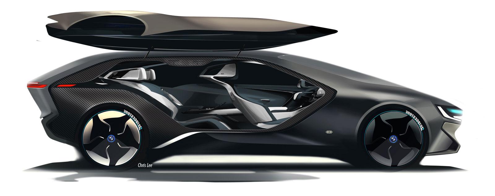 art center graduate envisions the bmw i of the future car body design. Black Bedroom Furniture Sets. Home Design Ideas