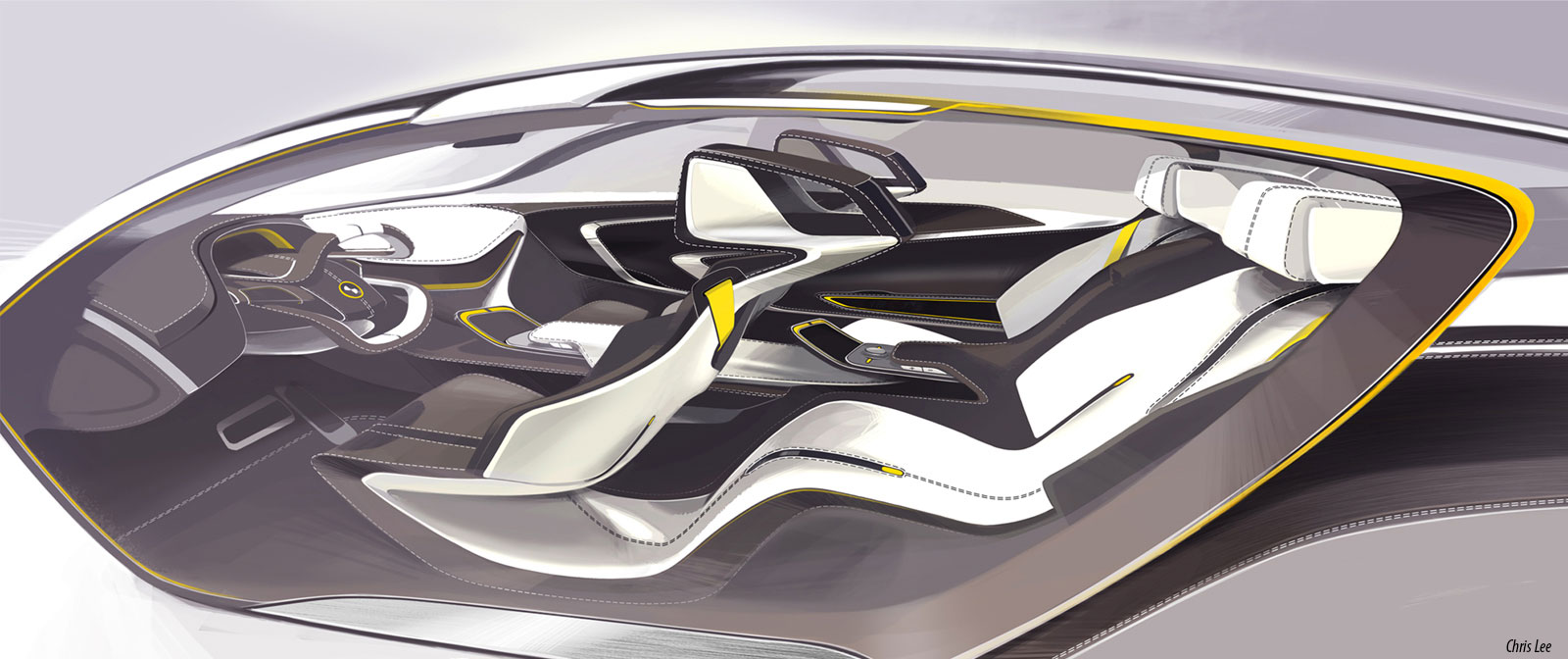 Art center graduate envisions the bmw i of the future - Car interior design ...