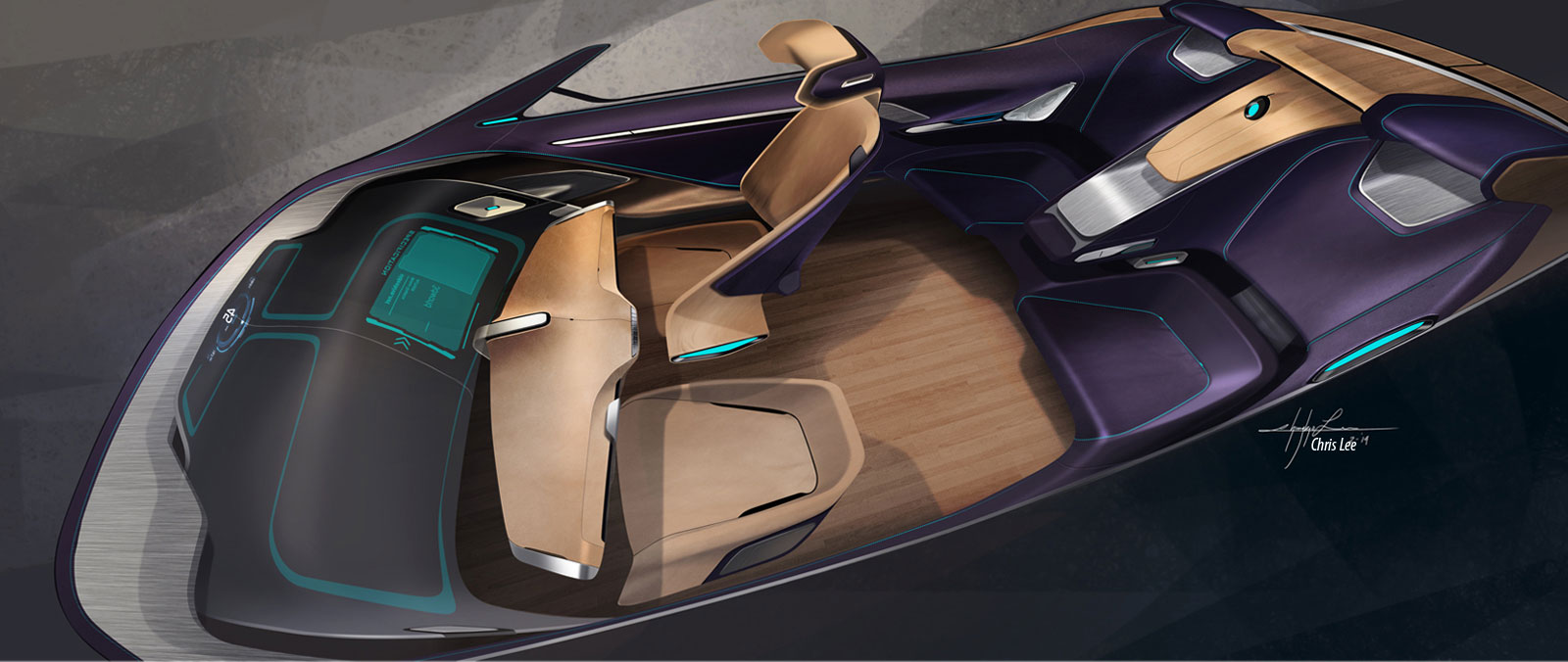 bmw i7 concept interior design sketch car body design. Black Bedroom Furniture Sets. Home Design Ideas